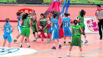 Campeonato de Minibasket, en una imagen del año pasado.
